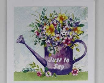 Just to Say Notelets, Thank You Notelets, Handmade Notelets, Handmade cards