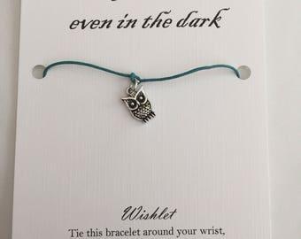 Owl Wishlet - Wish Bracelet