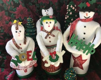 The Snowpeople family