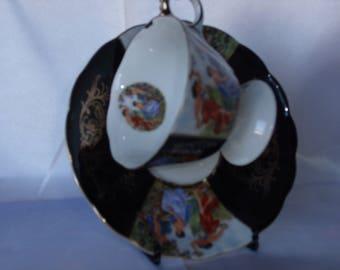 Tea Cup and Saucer, Royal Halsey
