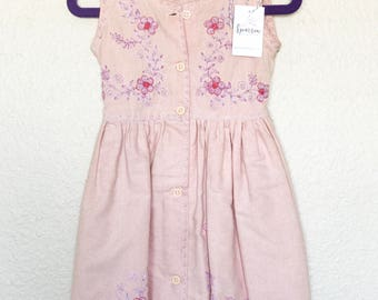 Beautiful Handmade Dress from Nicaragua - Size 2T
