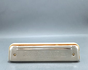 Vintage Harmonica  - Harmonica - Oral harmonica - Musical instrument -  Made in Poland.