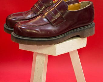 Made in  England Dr Martens Bordeaux size 4