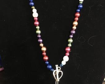 Multicolored Pearl Necklace