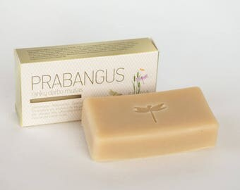 Natural handmade essential oil soap with special blend of oils -  Ylang Ylang, lavender, bergamot, lemongrass, rosmary - cold process soap