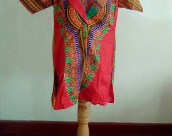 Short Sleeves Dashiki Jackets
