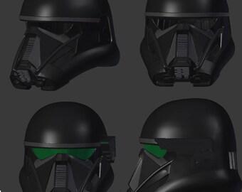 death trooper helmet 3d printer file