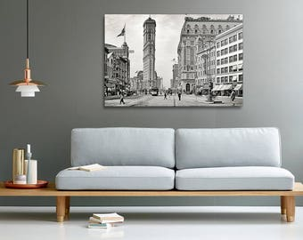 Times Square, New York old photography canvas print
