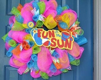 Fun In The Sun Wreath