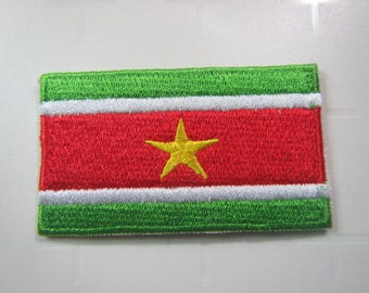 Surinamese Flag – National Flag of Suriname - United Nations of the World