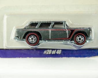 Hot Wheels Since 68 Top 40 '55 Chevy Nomad #20 of 40 1/64