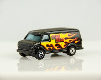 Vintage Corgi Juniors U.S. Van Fireball 1/64 Scale Diecast Car