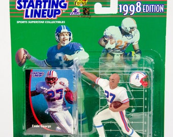 Starting Lineup 1998 NFL Eddie George Action Figure Houston Oilers