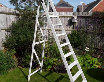 Vintage wedding ladders