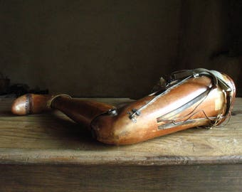 Wooden Leg, French. silent witness 1914-1918