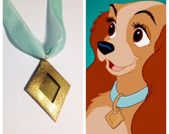Lady's Collar Reproduction Necklace from Disney's Lady and the Tramp