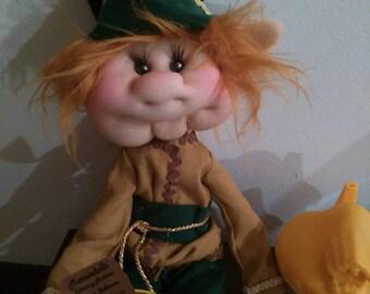 Rag Elf Doll