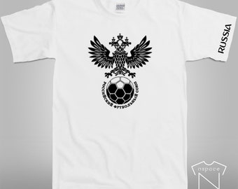 RUSSIA World Cup Graphic Soccer T-Shirt
