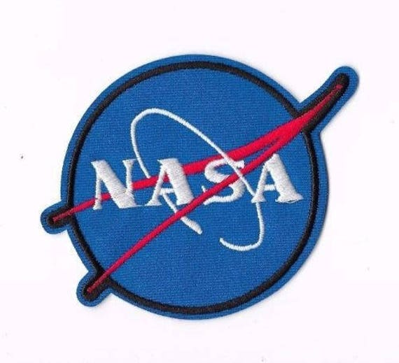 nasa iron on sew on patch embroidered badge astronaut pt184