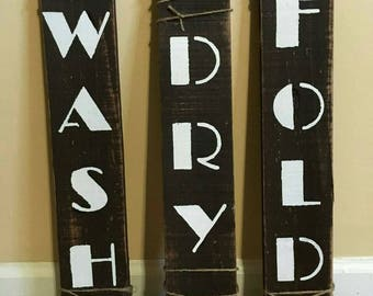 Laundry room signs , laundry room decorations , rustic signs , reclaimed wood sign
