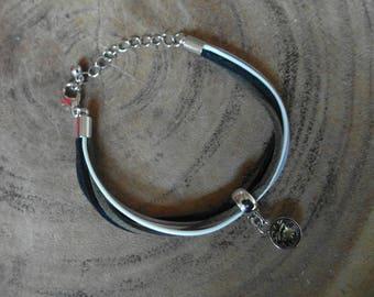 Suede bracelet