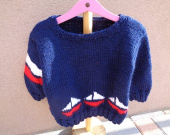 sweater sailor way 3 acrylic boy