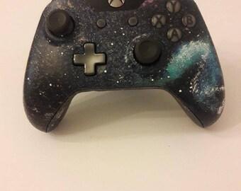 New Custom Xbox One Galaxy Controller!