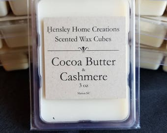 Cocoa Butter & Cashmere Wax Cubes