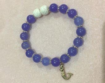 Mermaid diffuser bracelet