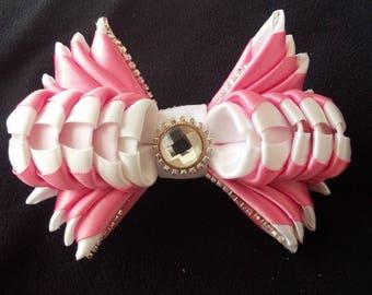 Hair clip Kanzashi style