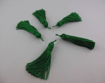Wire tree color rayon tassel