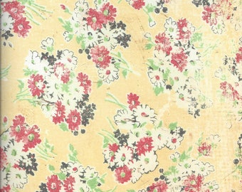 Daisy D's ~ 12 x 12 Decorative Scrapbook Paper ~ Bouquet ~ Butternut