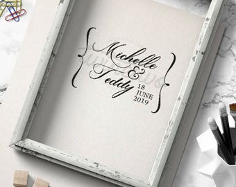 Wedding Logo Design • Wedding Monogram Design | Personalized | Ready Made | Custom | Script | Classic |