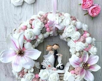 Wreath, Home decoration, Wedding wreath