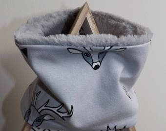 Snood / neck collection deer head