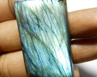 Amazing Quality Natural Labradorite 39x23x9 MM Size Octagon Shape 96.25ct AAA++ Quality Smooth Polished Multi Flash For Jewellery X4