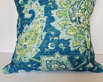 Summer Paisley Pillow Cover
