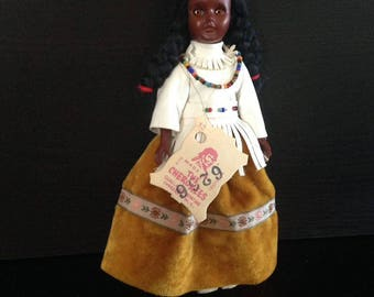 Vintage & Handmade The Cherokees Doll (Native American Doll)