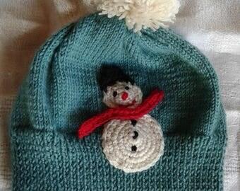 soft baby wool hat