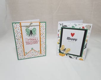 Butterfly Birthday Card Set of 2