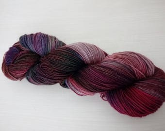 Hand-dyed sock yarn Herbstbunt