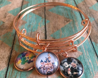 The Happiest Place on Earth - Set of 3 Bracelets