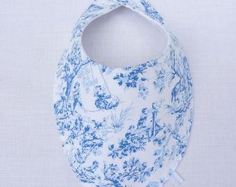 original 0/24 months girl scarf bib