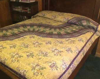 full/ double bed modern quilt