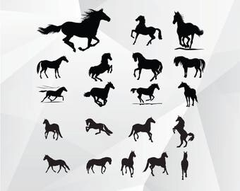 Horse svg,png,jpg,eps/Horse clipart for Print,Design,Silhouette,Cricut and any more