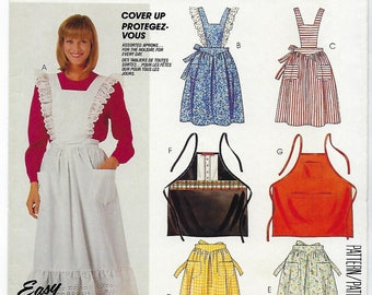 McCalls 835 - MISSES & MENS Apron Package / One Size