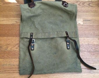 Duluth Scout Pack Waxed Canvas with UPGRADES