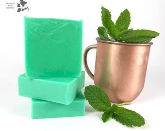 Mint Julep Soap I Bourbon Soap I Mint Soap