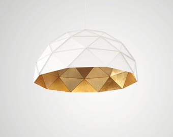 Sun Chandelier Gold 100 Stainless Steel - ADAMLAMP