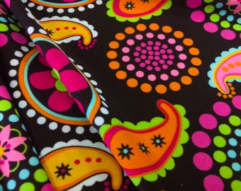 Nylon Lycra Spandex fabric 4 way strech  print